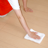 床の水拭き